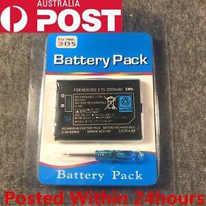 New Rechargable Battery Pack for Nintendo New3DS N3DS 3.7V 2000mAh CTR-001