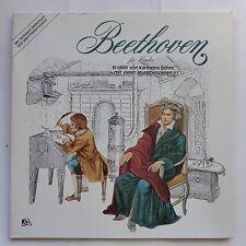Livre disque BEETHOVEN Fur kinder Erzahlt von KARLHEINZ BOHM 0056702 En allemand