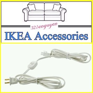 IKEA ANSLUTA Kitchen Counter Top Power Supply Cord w/ switch 301.214.11
