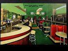 Vintage Hotel Clair Cocktail Lounge, Lake Geneva, Wis. Art Deco Atomic 1950s P25