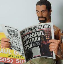1/6 Scale Newspaper New York Bulletin #2 for Hot Toys Daredevil Matt Murdock