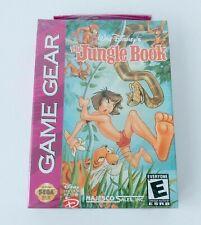 SEGA GAME GEAR - New & Sealed Disney THE JUNGLE BOOK NTSC USA 1993 Sega Rare