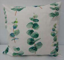 Eucalyptus Leaves Cushion Cover   40 x 40cm Perfect Handmade Gift!!