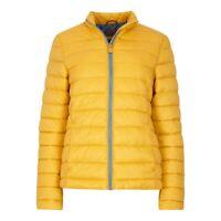 Weirdfish Ladies Womens Olivia Wadded Jacket Amber Glow Coat