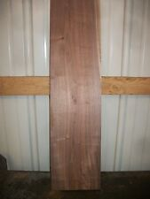 "1 PC WALNUT BOARD LUMBER WOOD KILN DRIED BOARD 33 1/8""X 8 1/2""X 7/8"" LOT 199N"
