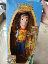 "NEW Disney Pixar Toy Story Plush Toy WOODY Talking Stuffed Doll Figure 15"" 3+"