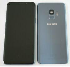 GENUINE SAMSUNG GALAXY S9 G960F LCD SCREEN DISPLAY BLUE FULL HOUSING