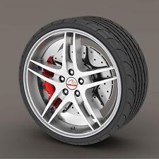 Silver Rimblades Alloy Wheel Edge Ring Rim Protectors Tyres Tire Guard Rubber