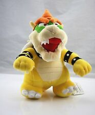 Super Mario Standing King Bowser Koopa 10 inch Plush Toy Stuffed Animal US Ship