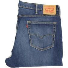 Levi's 541 Men Blue Straight Regular Stretch Jeans W40 L31 (51219)