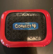 Connect 4 Hard Case Travel Game 2007 Hasbro Complete Car Vacation Four