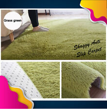 [Carpet Murah Gila]  Furry Fluffy Shaggy Anti Slip Carpet Rug  80 cm X 120 cm