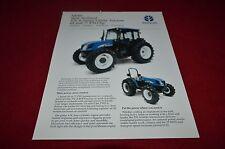 New Holland TN95DA TN85DA TN95A TN85A Tractor Dealer's Brochure YABE12 ver2