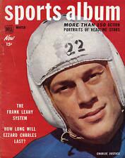 1950 Dell Sports Album, Football, magazine, Charlie Justice, Washington Redskins