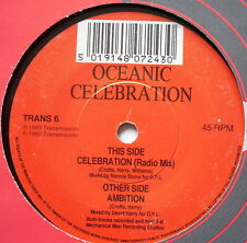 "OCEANIC - Celebration - Excellent Condition 7"" Single TRANS 6"