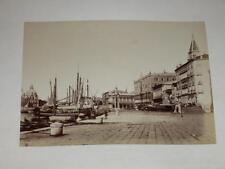 NAYA / VENISE VENEZIA 1870 Riva degli Schiavoni VINTAGE Albumen Print Photo Foto