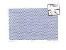 O (1/48) Scale - Lattice Reverse, Midnight - QGE111 Wallpaper miniature 3pcs