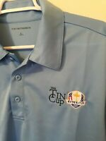 Mens Ryder Cup Polo Golf Shirt The Tin Cup Large