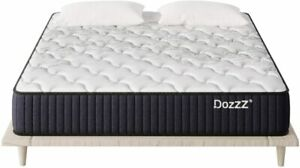 Double Spring Mattress 12 Inch in a Box with Pressure Relief Cool Gel Memo Home
