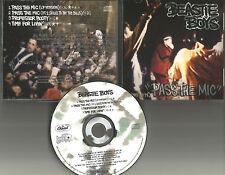 BEASTIE BOYS Pass the Mic 4TRX w/ UNRELASED TRK PROMO DJ CD single 1992 USA MINT