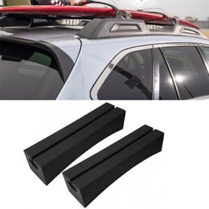 1Pair Car Roof Rack Black Portable EVA For Surfboard Kayak Stand-up Paddle Board