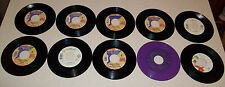 "Lot 10 Different PRINCE Vinyl ORIGINAL USA 7 INCH Record 7"" 45 rpm PURPLE RAIN"