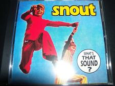 Snout What's That Sound Rare (Au Go Go) CD