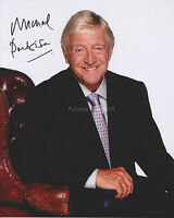Michael Parkinson HAND SIGNED 8x10 Photo, Autograph, Parkinson Show, Interviewer