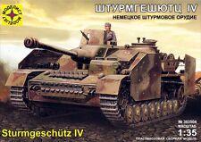 1/35  WWII GERMAN STURMGESCHUTZ IV   Modelist 303504 Models kits
