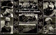 Schwarzwald ~1960 Personen in Tracht Trachtenkleidung Gutach, St. Peter, Titisee