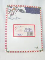 """New Great Papers: Holiday Letterhead Christmas Snowman . 25 Sheets  8 1/2"""" x 11"""""""