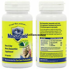 Macushield Veggie 90 capsules Eye Supplement suitable for vegetarians MacuHealth