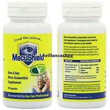 Macushield Veggie 90 Cápsulas Suplemento de ojos adecuado para los vegetarianos macuhealth