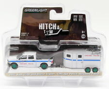 Greenlight 1/64 Scale 32110-D 2017 Ram 2500 Horse Trailer Chicago PD Hitch & Tow