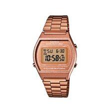 Casio Classic Rose Gold Tone Unisex Watch, B640WC-5AEF, Multi Alarm, Timer