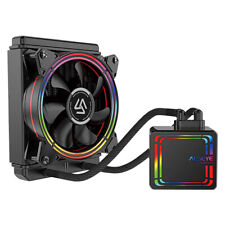 CPU cooler 120mm AiO Water cooling RGB.Liquid - iONZ Alseye - fits Intel and AMD