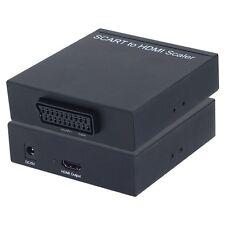 SCART-ADAPTER AUF HDMI-ANSCHLUSS | SCART --> HDMI KONVERTER SKART ADAPTER