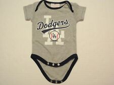 Los Angeles Dodgers MLB Baseball One Size Child 0-3 Months 3 Snaps