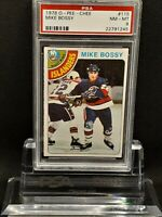 1978-79 O-Pee-Chee #115 Mike Bossy Rc Islanders - PSA 8 - NM-MT- 22791245 - SCA