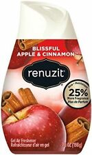 Renuzit Sensitive Scents Gel Air Freshner Blissful Apple & Cinnamon 7.0 oz