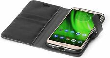 FOR NEW MOTOROLA MODEL- Magnetic Closure Leather Book Wallet Flip Case Cover