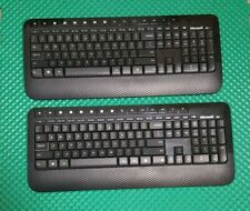 2 Microsoft  Wireless Keyboards 2000 Model 1477 With Usb Receiver dongle