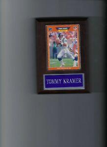 TOMMY KRAMER PLAQUE MINNESOTA VIKINGS FOOTBALL NFL   C