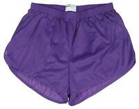 Soffe Purple Nylon Ranger Panties / Silkies / Running / Track Shorts Men's XL