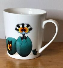 Wendy Binks Where's Stripey Porcelain Mug Emu Eggs  Australia