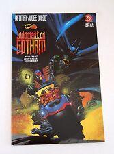 BATMAN JUDGE DREDD: JUDGMENT ON GOTHAM #1 1ST PRINT!! NEAR MINT (1991, DC)
