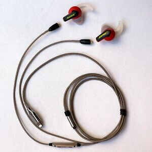 MODIFIED Bose SoundSport Wired In Ear Headphones for iPhone LTNing Earphones