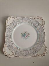 Royal Stafford Bone China Plate White Flower Detail Vintage Retro