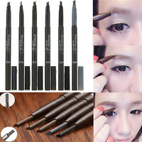 Beauty Makeup Waterproof Eyebrow Eye Brow Pencil Liner With Brush Cosmetic Tool