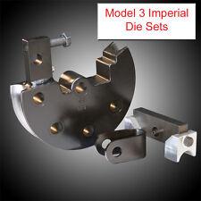 JD Squared Model 3 Tube Bender Imperial Tube Die Set